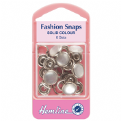 Hemline Pearl Top Fashion Snaps - 11mm
